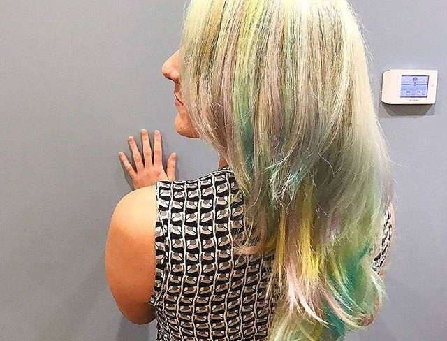 This cut is🔥 the color 🌈